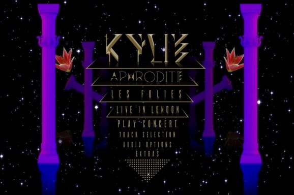 Kylie Aphrodite 3D Blu-ray