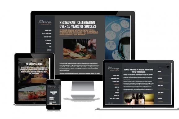 The Exchange Restaurant Branding, Design and Development